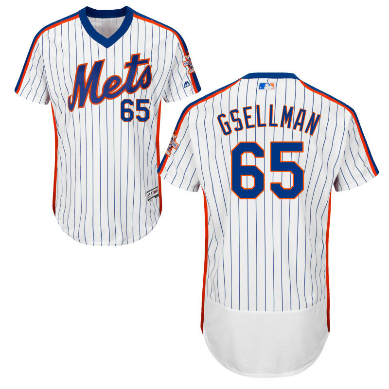New York Mets Robert Gsellman Youth Authentic White Flex Base Jersey